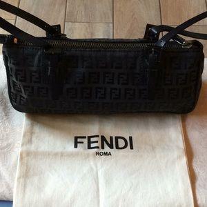 100% Authentic Fendi baguette purse with serial #